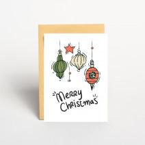 "Открытка ""Merry christmas"""