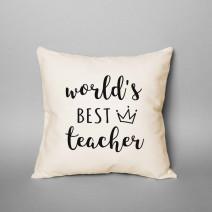 "Подушка ""World`s best teacher"""