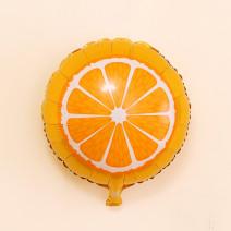 """Фольгированный шар """"Апельсин"""""""