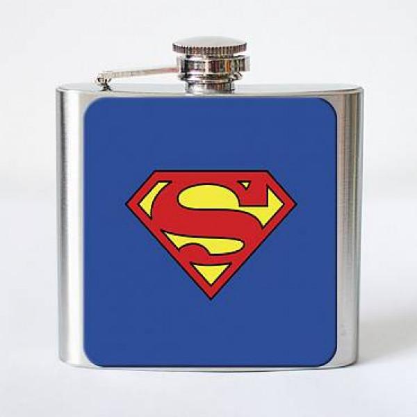 """Фляга """"Superman"""", фото 1, цена 199 грн"""