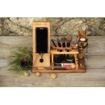 Женский органайзер для косметики из дерева