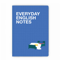 "Блокнот в крапку ""Everyday english notes"""
