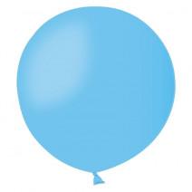 Шар мини-гигант пастель голубой