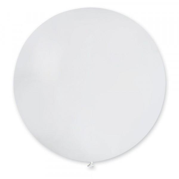 Шар мини-гигант пастель белый, фото 1, цена 140 грн