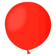 Шар мини-гигант пастель красный