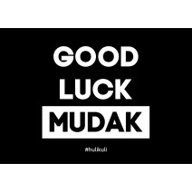 "Открытка ""Good Luck Mudak"""