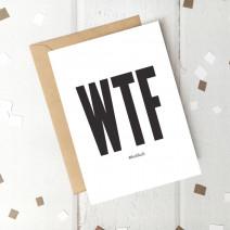 "Открытка ""WTF"""
