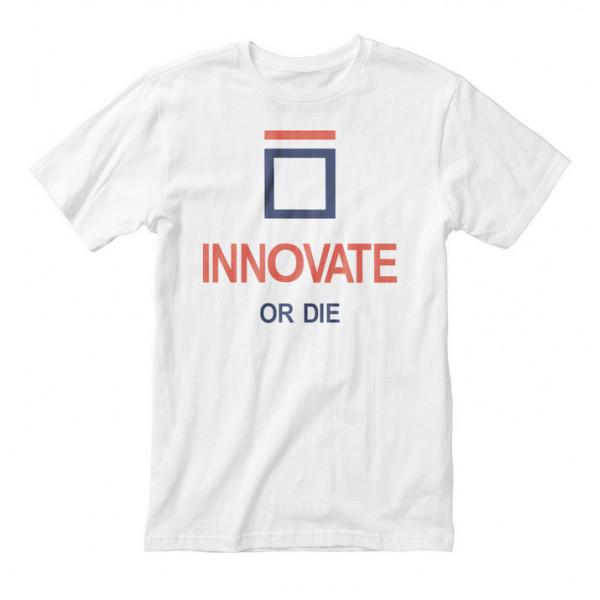 """Футболка мужская """"Innovate or Die"""", фото 1, цена 450 грн"""
