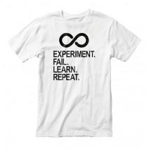 "Футболка мужская ""Experiment Fail Learn Repeat"""