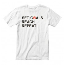 "Футболка мужская ""Set Goals Reach Repeat"""