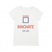 """Футболка женская """"Innovate or Die"""""""