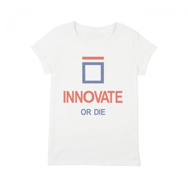 """Футболка женская """"Innovate or Die"""", фото 1, цена 450 грн"""