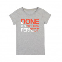 "Футболка женская ""Done is Better than Perfect"""