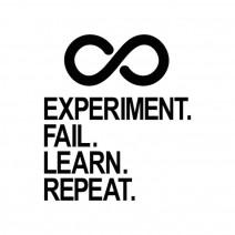 "Футболка женская ""Experiment Fail Learn Repeat"""
