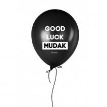 """Шарик надувной """"Good Luck Mudak"""""""