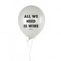 """Шарик надувной """"All We Need Is Wine"""""""