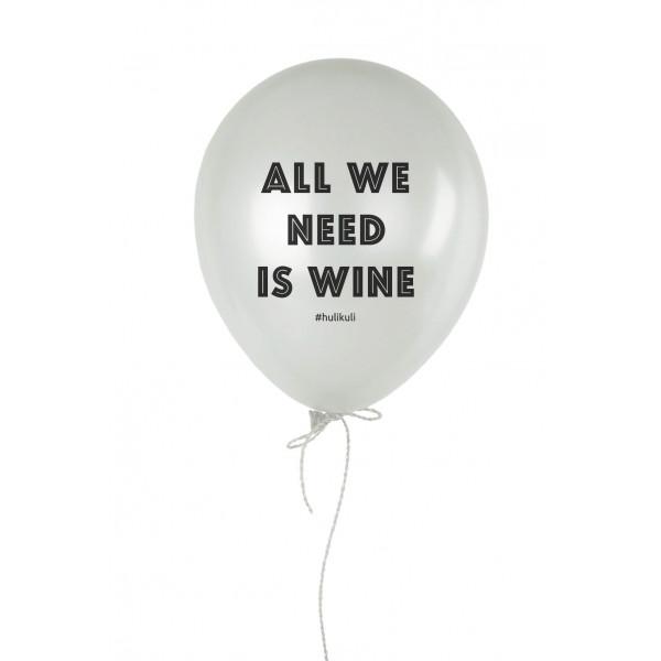 """Шарик надувной """"All We Need Is Wine"""", фото 1, цена 35 грн"""