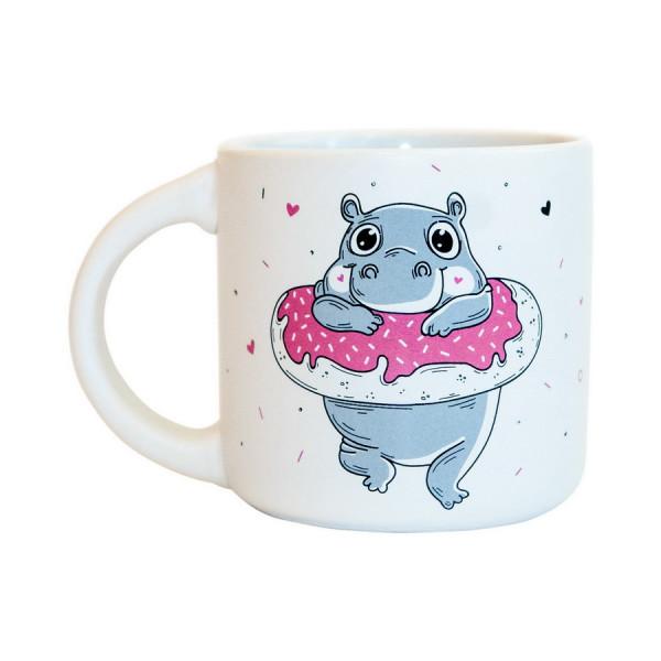 """Чашка """"Бегемот: Donute Worry"""", фото 1, цена 229 грн"""