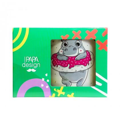 """Чашка """"Бегемот: Donute Worry"""", фото 2, цена 229 грн"""