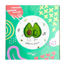 "Тарелка ""Авокадо: Green & Healthy"""