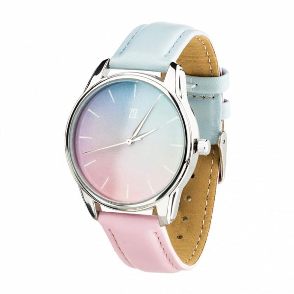 """Часы """"Розовый кварц и Безмятежность"""", фото 1, цена 910 грн"""